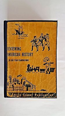 Reviewing American History 1966 School Edition