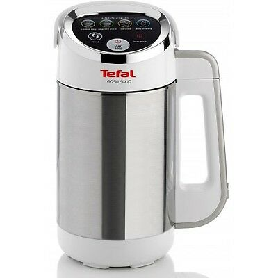 Tefal BL841140 1.2L Automatic Easy Soup Maker 1000W Recipe Book included-White