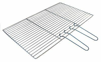 Chrome Brick Diy Bbq Charcoal Or Gas Replacement Cooking Grill