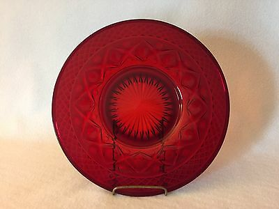 Imperial Cape Cod RUBY Salad Plate Free U.S. Shipping
