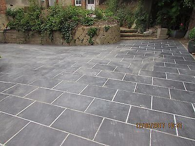 Slate Paving Slabs ✔ Drive ✔Patio ✔ Slabs Garden✔ 10m2 600x400mm 25mm Thick ✔✔