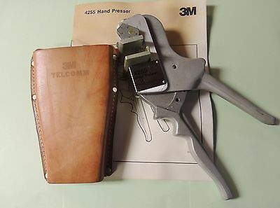 3M Ms2 4255 Supermate Module Connector Hand Presser Tool 4005 Dpm 4000D New