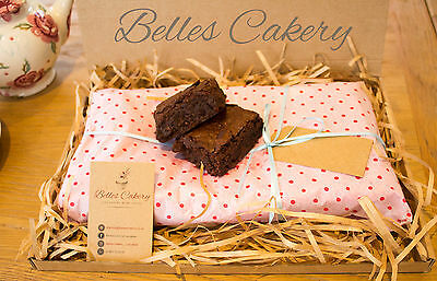 Luxury Brownies - Gift Wrapped and Delivered to You Door