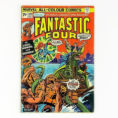 Fantastic Four #149 -- bronze age Marvel comic (GD+ | 2.5, pence copy)