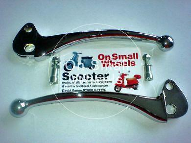 Vespa Chrome Levers T5 PX Small Frame ET3