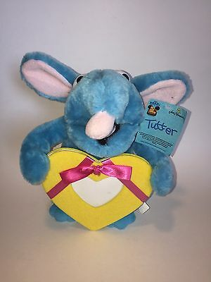 """Bear In The Big Blue House Tutter Plush Picture Frame 11"""" Tall"""