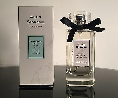 New Alex Simone Framboise Litchi Raspberry Lychee Home Spray Fragrance 100ml