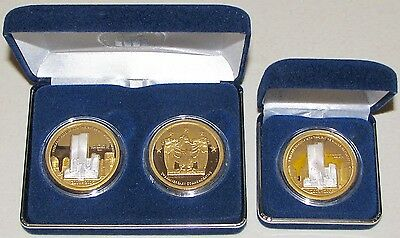 2006 Nat. Collectors Mint In Memory Sept. 11/01 Silver/24K Gold clad Medallions