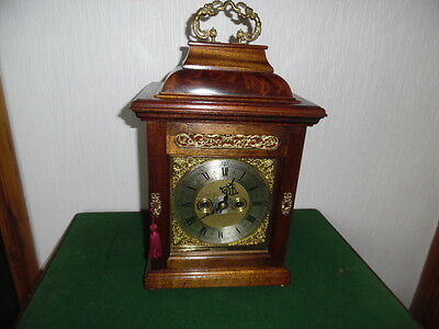victorian double fusee bracket clock with alarm