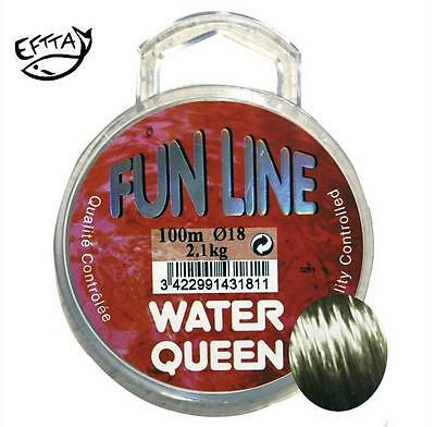 Nylon Water Queen Fun Line 0.16mm 1.500kg 100m