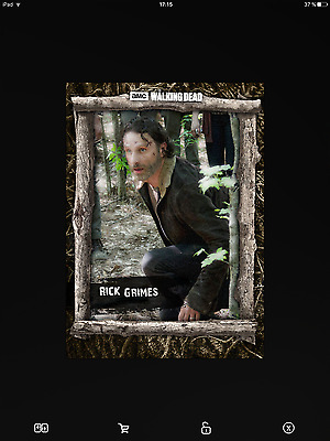 Topps the walking dead wood full set serie 2-3 with awards