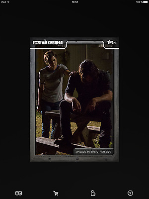 Topps the walking dead 714 full set with awrd black