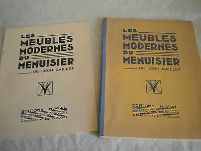 Les Meubles Modernes du Menuisier Leon Caillet Art Deco Furniture 1930s French