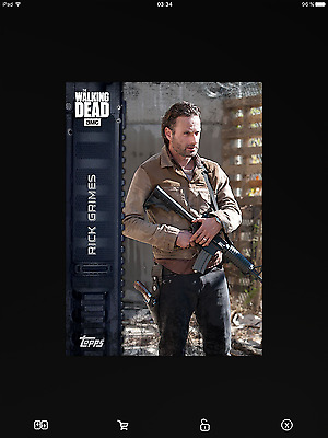 Topps the walking dead Marathon Armed full set with awards