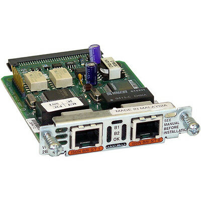Used Cisco Systems VIC2-2BRI-NT/TE | incl 19% VAT | 2 years Cybertrading warrant