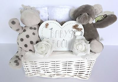 Baby Gift Basket. Unisex. Baby Shower. Nappy Cake.