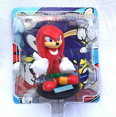 Japanese SEGA Sonic The Hedgehog Adventure Knuckles Keychain Figure Plush Game