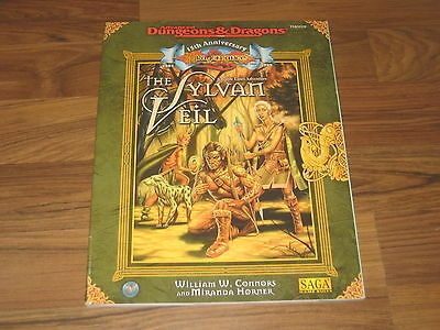 AD&D 2nd Edition Dragonlance 15th Anniversary The Sylvan Veil Adventure TSR