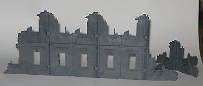 Scorched city 28mm 2 sprues lot of ruined building terrain set Tehnolog Bronepeh