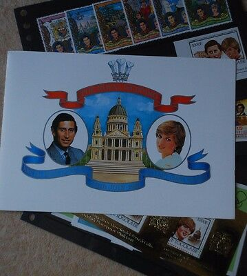 Royal Wedding Stamp Set 1981 Presentation Pack Pristine Commonwealth Stamps MNH