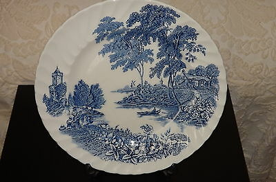 """Swinnertons Collectible Dinner Plate  """"THE FERRY""""  A Ridgway Product"""