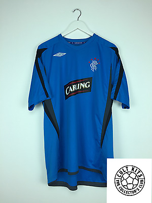 RANGERS 06/07 Training Shirt (XXL) Soccer Jersey SPL Umbro Football