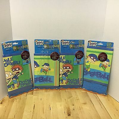 Rugrats Sports Wall Paper Border 4 Packs Of 4 Yards Each W/ Cutouts Unused