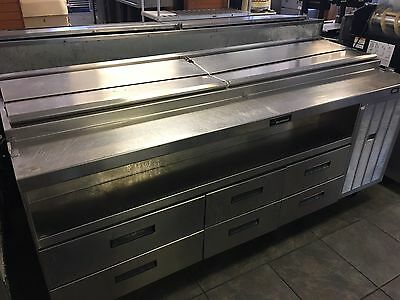 Delfield Refrigerated Prep Table