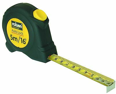 Rolson 50565 Measuring Tape Measure 5 m x 19 mm New Free Post