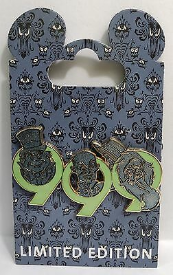 Disney WDI Haunted Mansion 9 9 9 Hitchhiking Ghosts Wallpaper LE 300 Pin
