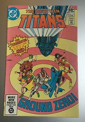 New Teen Titans 10. Second Deathstroke. Cents. Fine.