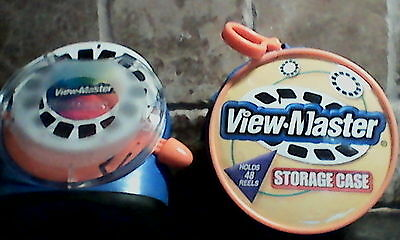 ViewMaster Lot : Viewer + Storage Case + Preview Reel