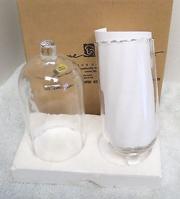 2 Home Interiors Homco Lamplight Votive Candle Sconce Cups New