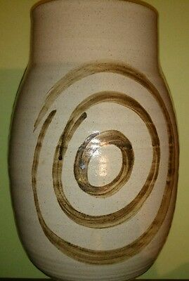 Abaty Wales Large hand drawn Vase  OFFERS WELCOME