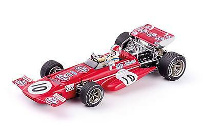 Policar CAR04A March 701 SPA 1970 #10 - use on Scalextric slot car track