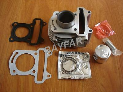 4 stroke Scooter ATV 139QMB GY6 50 39mm stock cylinder Piston & gasket set
