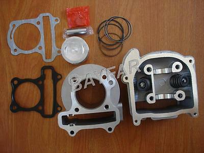 50mm big bore kit Cylinder Set for Scooter 139QMB GY6 50cc upgrade to GY6 100cc