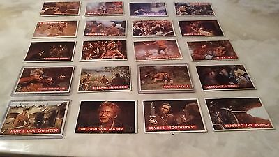 1956 Topps Davy Crockett Green Back Cards. Excellent Condition.