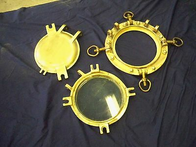 Great Lakes Vintage Solid  Brass Porthole