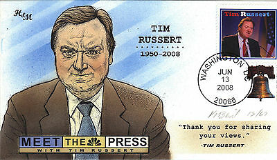 "BEVIL HP H&M PASSING OF TIM RUSSERT DOD  ""MEET THE PRESS""  Sc 4437"
