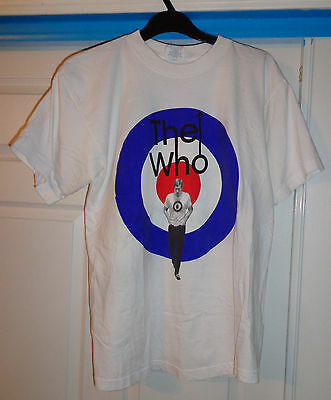 Vintage THE WHO T-Shirt Tee Quadrophenia North America TOUR 1996 LARGE