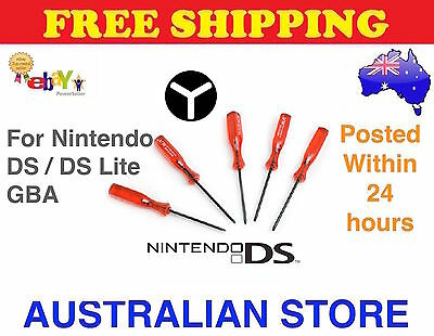 TRI-WING TriWing Screwdriver for Nintendo Wii NDS Lite NDSL NDS GBA Y SHAPE Tool