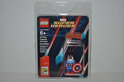 Lego Sdcc Comic Con 2015 Exclusive Captain America Sam Wilson Minifigure New (A)