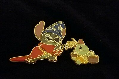 Japan Costume Stitch and Scrump - Fantasia Disney Pin HTF