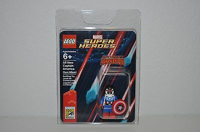 Lego Sdcc Comic Con 2015 Exclusive Captain America Sam Wilson Minifigure New (B)