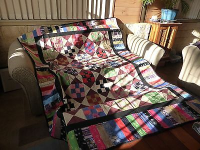 quilt handmade single bed size