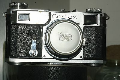 Zeiss Ikon Contax II Rangefinder Camera with Carl Zeiss Biogon Lens 2.8/35mm