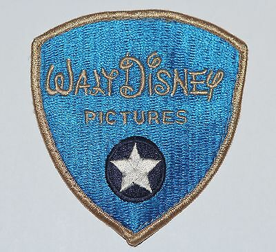 Vintage 1960's Disneyland Embroidered Security Patch Walt Disney Pictures