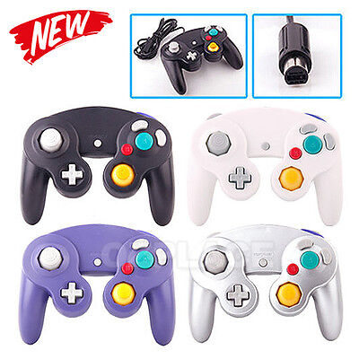 Premium New Dual Shock GameCube Controller For Nintendo Wii GC NGC Gamepad