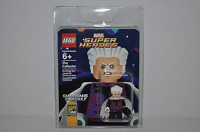 Lego Sdcc Comic Con 2014 Exclusive The Collector Minifigure New Marvel Super